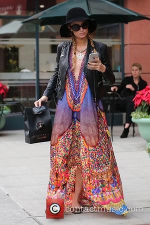 Paris Hilton at Beverly Hills