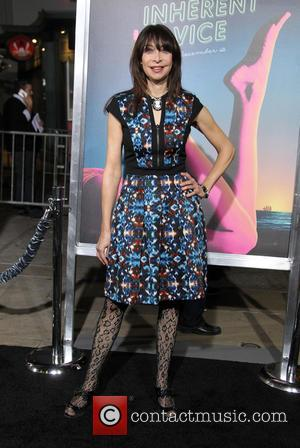 Illeana Douglas - Los Angeles premiere of 'Inherent Vice' - Arrivals at TCL Chinese Theatre - Hollywood, California, United States...