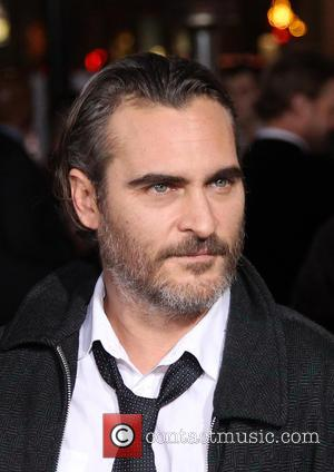 Joaquin Phoenix - Los Angeles premiere of 'Inherent Vice' - Arrivals at TCL Chinese Theatre - Hollywood, California, United States...