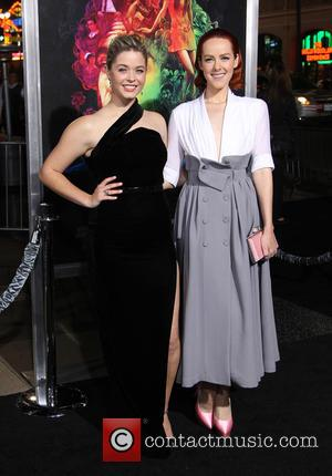 Sasha Pieterse and Jena Malone - Los Angeles premiere of 'Inherent Vice' - Arrivals at TCL Chinese Theatre - Hollywood,...