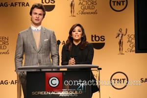 Ansel Elgort and Eva Longoria