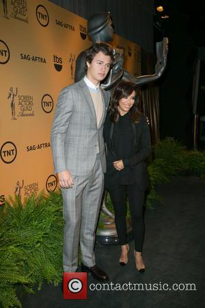 Ansel Elgort and Eva Longoria - Celebrities announce Nominations for the 21st Annual Screen Actors Guild Awards at SilverScreen Theater...