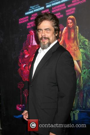 Benecio Del Toro - Inherent Vice LA Premiere at TCL Chinese Theater - Los Angeles, California, United States - Wednesday...