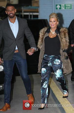 Kerry Katona and George Kay - Kerry Katona and her husband George Kay outside the ITV Studios - London, United...