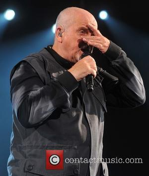 Peter Gabriel - Peter Gabriel performing live on stage at the 3Arena - Dublin, Ireland - Wednesday 10th December 2014