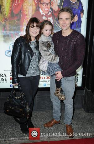 Jack P Shepherd and Lauren Shippey - Celebrities arrive at The Manchester Opera House for press night of Snow White...