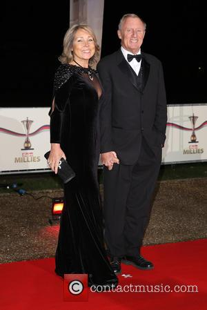 Chris Tarrant and Jane Bird - The Sun Military Awards (Millies) 2014 - Arrivals - London - Wednesday 10th December...