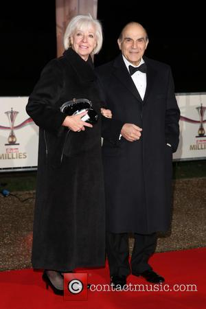 David Suchet and Sheila Ferris - The Sun Military Awards (Millies) 2014 - Arrivals - London - Wednesday 10th December...