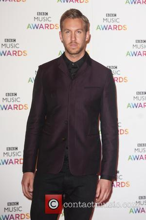 Calvin Harris - BBC Music Awards held at the Earls Court Exhibition Centre. - London, United Kingdom - Thursday 11th...