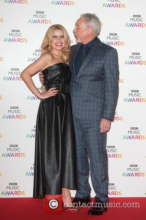 Tom Jones and Paloma Faith - BBC Music Awards held at the Earls Court Exhibition Centre. - London, United Kingdom...