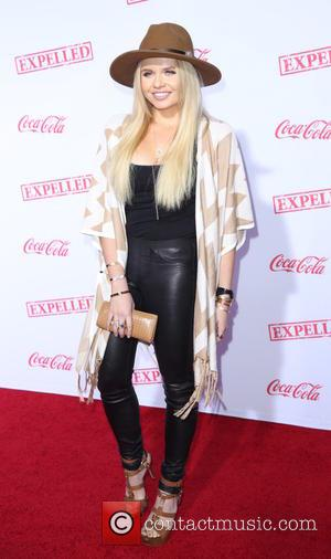 Alli Simpson - Premiere of Awesomeness TV's 'EXPELLED' at Westwood Village Theatre - Arrivals - Los Angeles, California, United States...