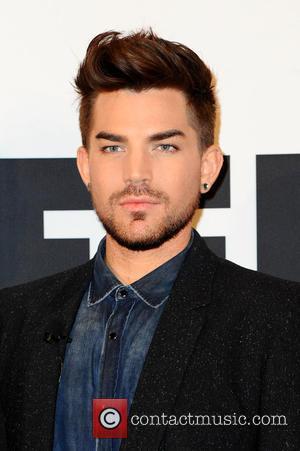 Adam Lambert - Brian May and Roger Taylor of Queen and Adam Lambert promoting their tour 'Queen and Adam Lambert'...