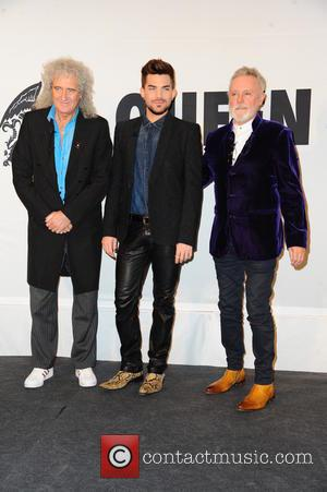 Queen, Brian May, Adam Lambert and Roger Taylor