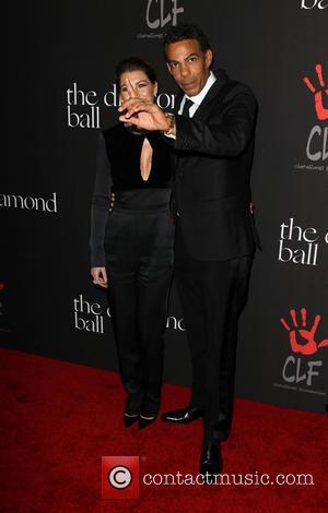 Ellen Pompeo and Chris Ivery