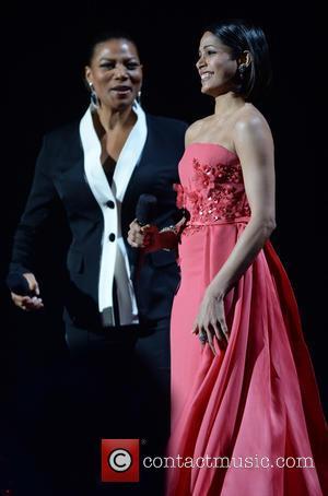 Freida Pinto and Queen Latifah