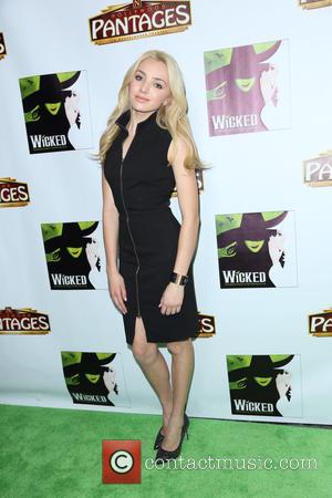 Peyton List - Shots from the Opening night of 'Wicked' as stars arrived at the even which was held at...