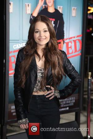 Kelli Berglund - Premiere of Awesomeness TV's 'EXPELLED' at Westwood Village Theatre - Arrivals - Los Angeles, California, United States...