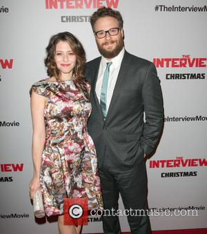 Lauren Miller and Seth Rogen - ****File Photo** * SONY BOSSES CANCEL THE INTERVIEW RELEASE Sony Pictures executives have officially pulled...