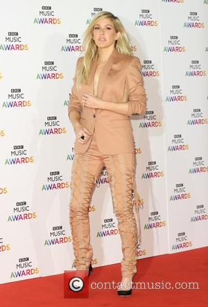 Ellie Goulding - Shots of a host of stars from the music industry as they arrive for the inaugural BBC...
