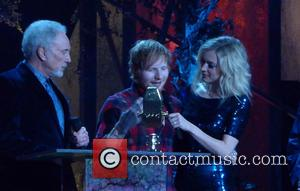 Tom Jones, Ed Sheeran and Fern Cotton