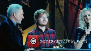 Ed Sheeran and Tom Jones