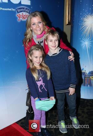 Alison Sweeney, Ben Sanov and Megan Hope Sanov - Shots from The Staples Center which was host to
