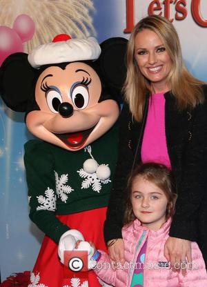Brooke Anderson, Kate Victoria Walker and Minnie Mouse
