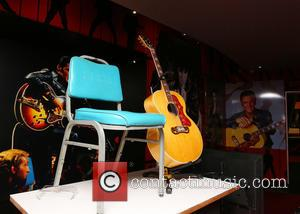Elvis Presley Exhibition - Preview of Elvis at the 02: The Exhibition of his life--Direct from Graceland - London, United...