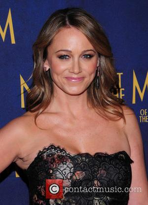 Christine Taylor - Shots of a variety of stars as they arrive for the New York Premiere of 'Night at...