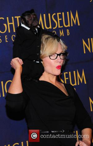 Rachael Harris, Monkey and Dexter - Shots of a variety of stars as they arrive for the New York Premiere...