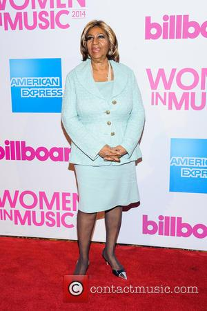 Aretha Franklin - Billboard Women in Music Luncheon 2014 at Cipriani Wall Street - New York, New York, United States...