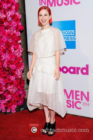 Hayley Williams - Billboard Women in Music Luncheon 2014 at Cipriani Wall Street - New York, New York, United States...