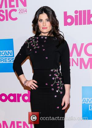 Idina Menzel - Billboard Women in Music Luncheon 2014 at Cipriani Wall Street - New York, New York, United States...