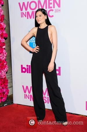 Jessie J - Billboard Women in Music Luncheon 2014 at Cipriani Wall Street - New York, New York, United States...