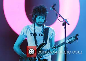 Sergio Pizzorno and Kasabian - Kasabian perform at the Phones 4u Arena, Manchester at Manchester Arena - Manchester, United Kingdom...