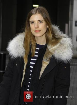 Agyness Deyn - Agyness Deyn at the BBC Radio 1 studios - London, United Kingdom - Friday 12th December 2014