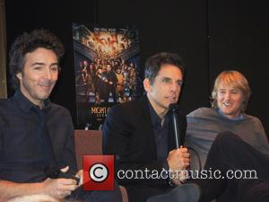 Ben Stiller, Shawn Levy and Owen Wilson