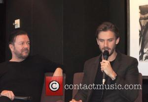 Ricky Gervais and Dan Stevens