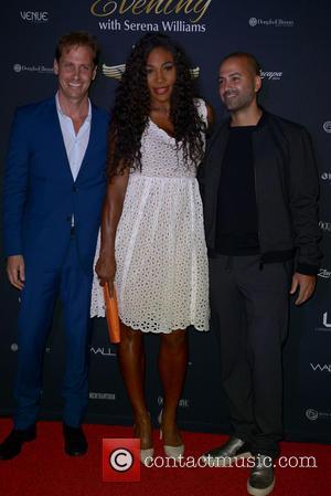 Serena Williams and Michael Rose - The Serena Williams Ultimate Run VIP Kick-Off at Miami Beach - Miami Beach, Florida,...