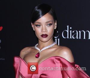Rihanna - Shots from the red carpet as a variety of stars arrived for pop star Rihanna's inaugural Annual Diamond...