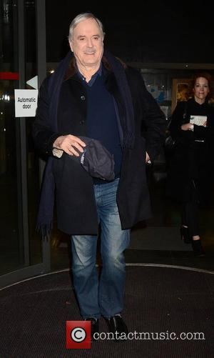 John Cleese - Celebrities at the RTE studios for 'The Late Late Show' - Dublin, Ireland - Friday 12th December...