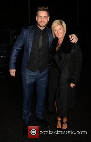 Keith Duffy and Lisa Duffy - Celebrities at the RTE studios for 'The Late Late Show' - Dublin, Ireland -...