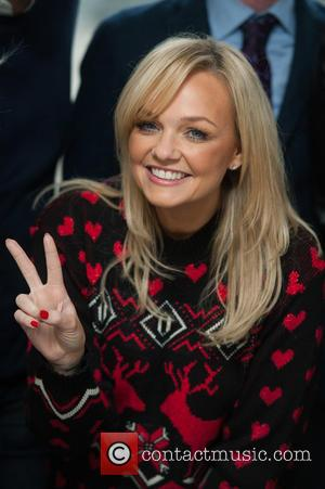 Emma Bunton - Photographs from the unveiling of unveiling of the X-Factor choir presented by Heart London Breakfast show hosts...
