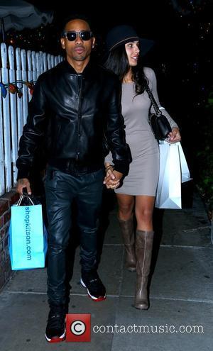 Brandon T. Jackson and Denise Xaviar