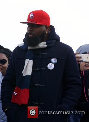 Mike Brown Sr. - 'Justice For All' civil rights march on Pennsylvania Avenue in Washington D.C., organized by Al Sharpton's...