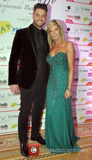 Keith Duffy and Lisa Duffy