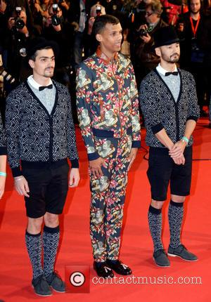 Stromae - 16th NRJ Music Awards - Arrivals - Cannes, France - Saturday 13th December 2014