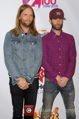 James Valentine and Adam Levine