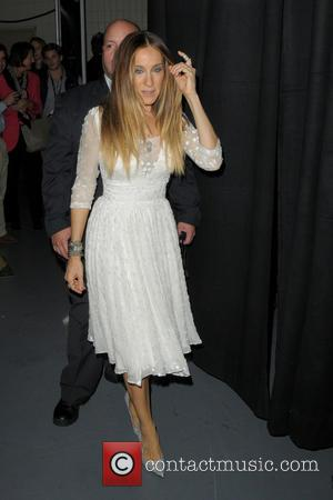 Sarah Jessica Parker - Shots of a variety of stars from the music industry as they took to the red...