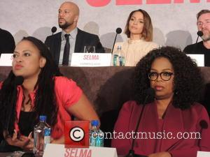 Oprah Winfrey, Common and Carmen Ejogo - Press Conference for 'Selma' held at the Mandarin Oriental Hotel - New York,...